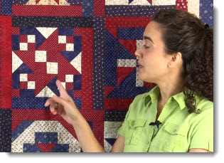 Post image for Video 34: Patriotic Block of the Month – Block #2