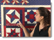 Post image for Patriotic Block of the Month – Block #4