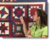 Post image for Patriotic Block of the Month – Block #5